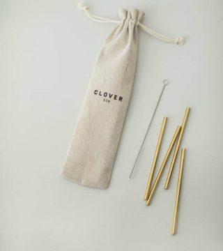 Clover reusable straws